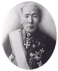 The founder of the Japanese Red Cross Society Count Tsunetami Sano