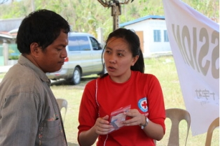 Philippine Red Cross Volunteer, Wilinda Go
